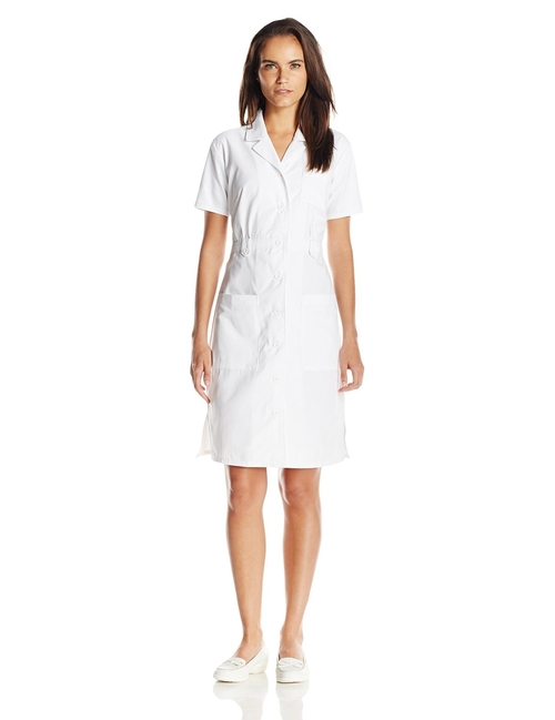 Button Front Nurse Dress by Dickies in Kill Bill: Vol. 1