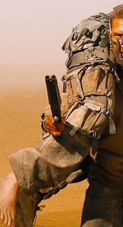 Custom Made Cargo Pants (Nux) by Jenny Beavan (Costume Designer) in Mad Max: Fury Road