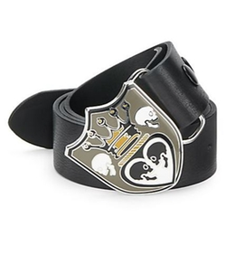 Crowned Heart Leather Belt by King Baby Studio in The Big Bang Theory