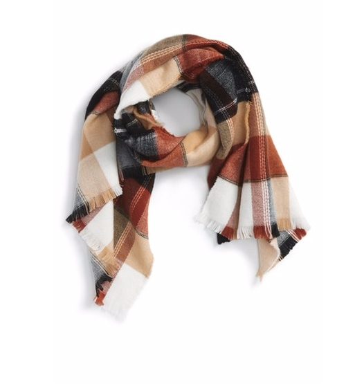 'Heritage Plaid' Scarf by BP. in The Bachelorette - Season 12 Looks