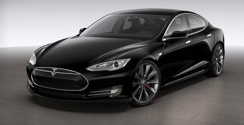 Model S Sedan by Tesla in Kingsman: The Secret Service
