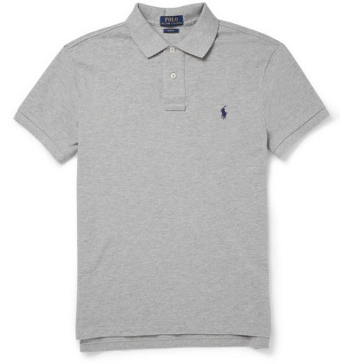 Slim-Fit Cotton-Piqué Polo Shirt by Polo Ralph Lauren in While We're Young
