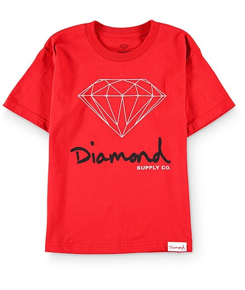 OG Sign Red T-Shirt by Diamond Supply Co in Unbreakable Kimmy Schmidt - Season 2 Episode 11