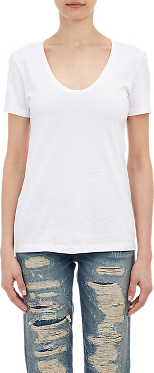 Scoopneck T-Shirt by Barneys New York in Pretty Little Liars