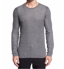 Thermal Knit Crewneck T-Shirt by Vince in Fifty Shades Darker