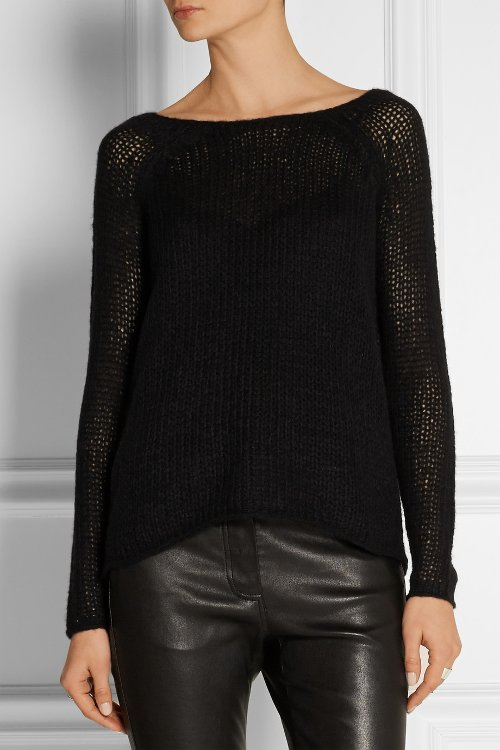Open-Knit Cashmere and Silk-Blend Sweater by Kaufmanfranco in Begin Again