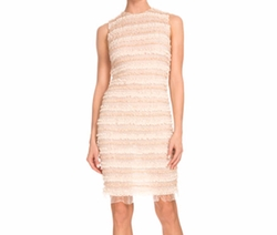 Sleeveless Micro-Ruffle Cocktail Dress by Givenchy in Empire