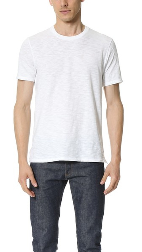 Slub T-Shirt by Vince in Creed