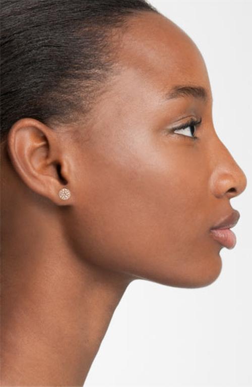 Small Pavé Stud Earrings by Nadri in The Finest Hours