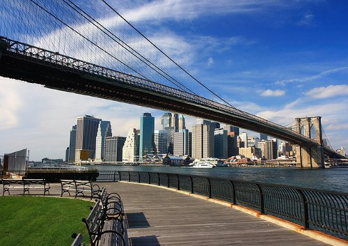 Empire Fulton Ferry State Park New York City, New York in John Wick