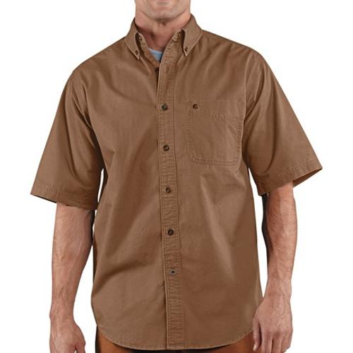 Hines Solid Shirt by Carhartt in Nightcrawler