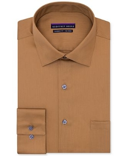 Non-Iron Sateen Solid Dress Shirt by Geoffrey Beene in While We're Young