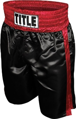 Professional Boxing Trunks by Title in Southpaw