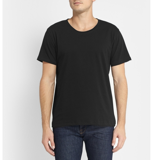 Fairtrade Organic Cotton-Jersey Crew Neck T-Shirt by Nudie Jeans in Vacation