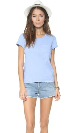 Pocket Crew Neck T-Shirt by Faherty in The Fault In Our Stars