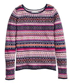Jacquard-Knit Sweater by H&M in If I Stay