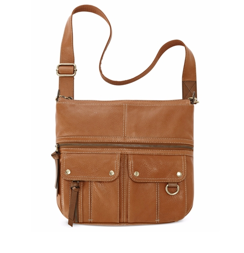 Morgan Leather Top Zip Crossbody Bag by Fossil in Kong: Skull Island