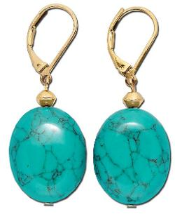 Gold-Tone Stone Double Drop Earrings by Lauren Ralph Lauren in Limitless