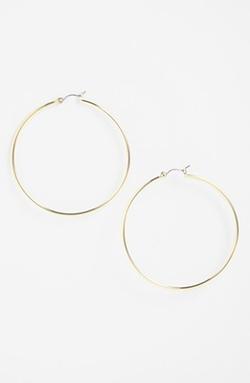 Large Hoop Earrings by Lauren Ralph Lauren in Jem and the Holograms