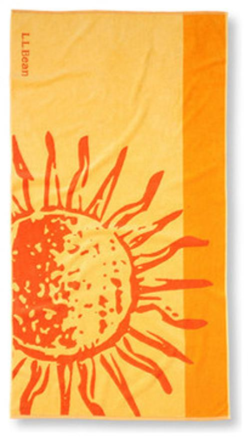 Seaside Beach Towel by LL. Bean in The Other Woman