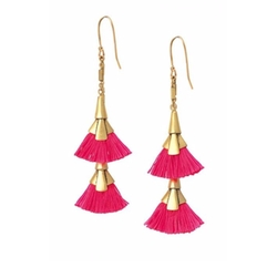 Eden Tassel Chandelier Earrings by Stella & Dot in Pretty Little Liars