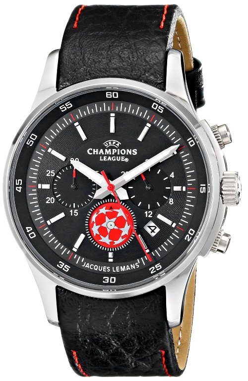 Champions League Analog Display Watch by Jacques Lemans in John Wick
