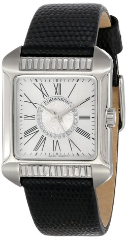 Women's Classic Swiss Quartz Watch by Romanson in Self/Less