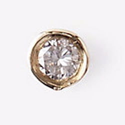 Diamond Infinite Tusk Earring by Gabriela Artigas in Sisters