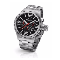 Canteen Stainless Steel Bracelet Watch by TW Steel in Shadowhunters