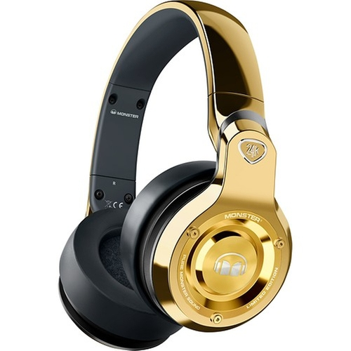 24k Over-the-Ear DJ Headphones by Monster in Empire