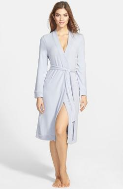 Waffle Cotton Robe by Nordstrom in No Strings Attached