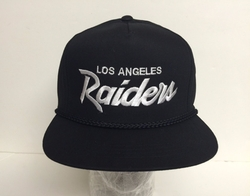 Vintage Replica Los Angeles Raiders Snapback Hat by Raider in Straight Outta Compton