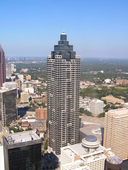 SunTrust Plaza Atlanta, Georgia in Captive