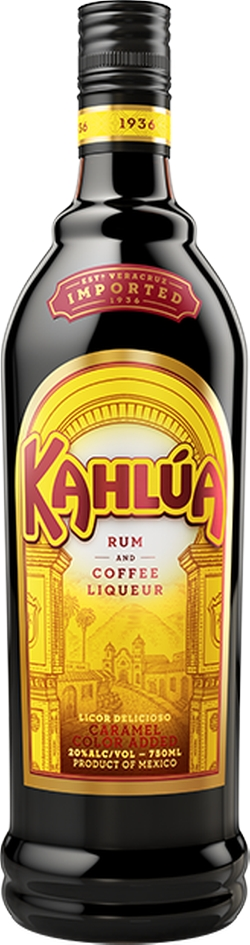 Original Rum and Coffee Liqueur by Kahlua in The Big Lebowski