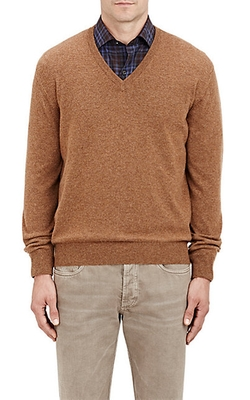 Cashmere V-Neck Sweater by Barneys New York in Silicon Valley