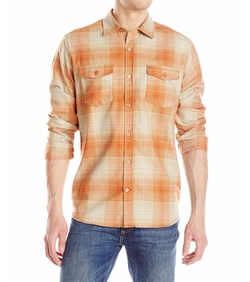 Bradford Long Sleeve Woven Shirt by Hurley in The Ranch