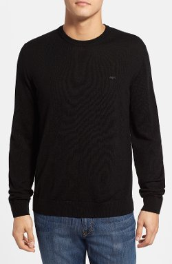 Wool Crewneck Sweater by Lacoste in That Awkward Moment
