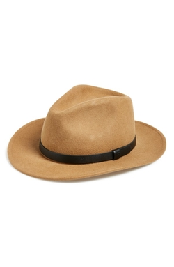 Messer Wool Fedora Hat by Brixton in The Blacklist