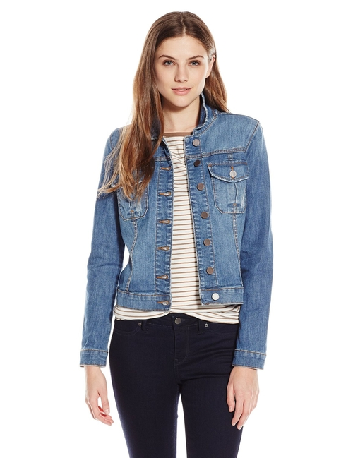 Amelia Denim Jacket by Kut From The Kloth in Lady Dynamite -  Preview