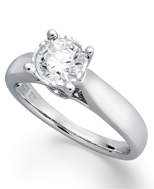 Diamond Solitaire Engagement Ring by Trumiracle in Suits - Season 5 Episode 1