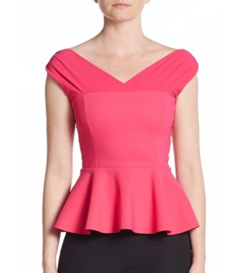 Peplum Top by La Petite Robe Di Chiara Boni in Scream Queens - Season 2 Episode 3