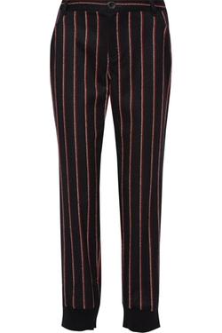 Bourdin Striped Wool Blend Straight Leg Pants by Rebecca Minkoff in Pretty Little Liars