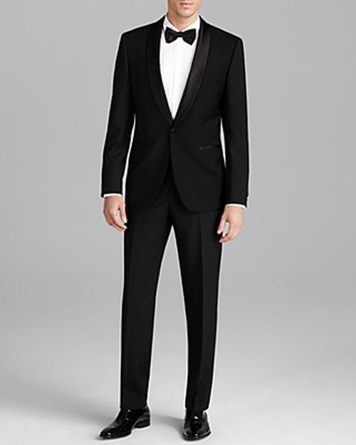 Sky Gala Tuxedo Suit by Boss Hugo Boss in Dr. No