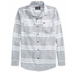 Debate Burnout Stripe Long-Sleeve Shirt by Hurley in Modern Family