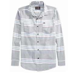 Debate Burnout Stripe Long-Sleeve Shirt by Hurley  in Modern Family