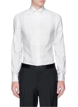 Wing Tip Bib Tuxedo Shirt by Isaia in Crimson Peak