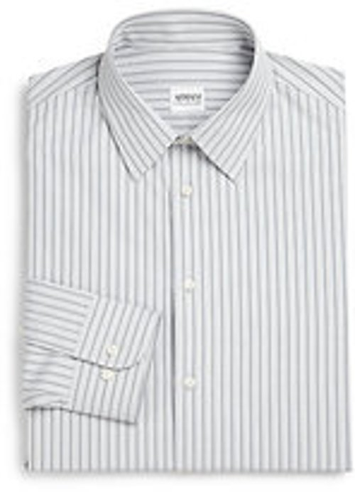 Deco Striped Dress Shirt by Armani Collezioni in Horrible Bosses 2