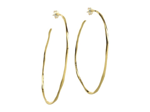 Laurel Large Hoop Earrings by Gorjana in Sex and the City 2