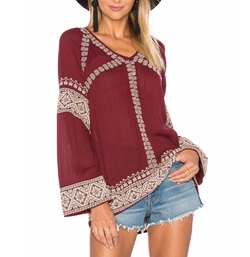 Therone Tunic Top by Tularosa in The Ranch