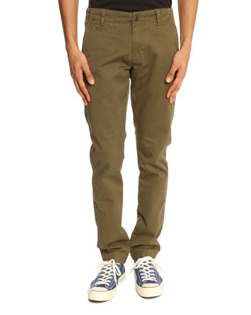 Twisted Twill Khaki Chinos by Knowledge Cotton Apparel in The Age of Adaline